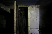 """JINGZHOU, CHINA - JUNE 07: (CHINA OUT)<br /> <br /> Interior View Of Capsized Eastern Star <br /> <br /> The locker of capsized cruise ship \""""Eastern Star\"""" is seen on June 7, 2015 in Jingzhou, Hubei Province of China. A passenger ship named Dongfangzhixing (Eastern Star) carrying over 400 people, including 406 Chinese passengers, 5 travel agency workers and 47 crew members aboard, according to the administration, sank at around 9:28 p.m. on Monday in the Jianli (Hubei Province) section of the Yangtze River. The death toll of the capsized cruise Eastern Star reached 432 on Sunday, leaving 10 still missing and 14 survived. Further rescue work continues in the accident site. <br /> ©Exclusivepix Media"""
