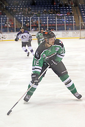 15 November 2013: Jason Cohen. Louisiana IceGators at Bloomington Thunder Southern Professional Hockey League (SPHL) at the U.S. Cellular Coliseum in Bloomington Illinois