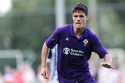 Christian Norgaard of ACF Fiorentina during the Pre-season Friendly match between Heracles Almelo and Fiorentina at Sportpark Wiesel  on August 01, 2018 in Wenum-Wiesel , The Netherlands