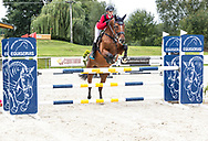Female rider at Czech Equestrian Masters 2017, September 7-10. Held in The Czech Republic, Europe.<br /> Photo for personal and editorial use only.