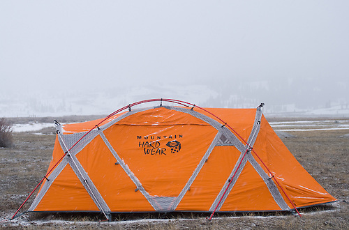 Mountain Hardware EV3 expedition weight tent in Mammoth Lakes Calif. Friday April & Gear Test for The New York Times (040309) - Images | Calvert ...