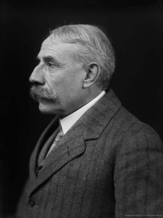 Sir Edward Elgar, composer, England, 1915