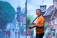 LONDON UK 28TH JULY 2016:  Advice for riders . The Prudential RideLondon Cycling Show at the Excel Centre. Prudential RideLondon in London 29th July 2016<br /> <br /> Photo: Neil Turner/Silverhub for Prudential RideLondon<br /> <br /> Prudential RideLondon is the world's greatest festival of cycling, involving 95,000+ cyclists – from Olympic champions to a free family fun ride - riding in events over closed roads in London and Surrey over the weekend of 29th to 31st July 2016. <br /> <br /> See www.PrudentialRideLondon.co.uk for more.<br /> <br /> For further information: media@londonmarathonevents.co.uk