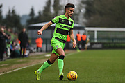 Forest Green Rovers Liam Shephard(2) during the EFL Sky Bet League 2 match between Forest Green Rovers and Bury at the New Lawn, Forest Green, United Kingdom on 19 January 2019.