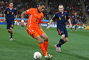 JOHANNESBURG, SOUTH AFRICA- Sunday 11 July 2010, Gregory van der Wiel during the final between Spain The Netherlands (Holland) held at Soccer City in Soweto during the 2010 FIFA Soccer World Cup..Photo by Roger Sedres/Image SA