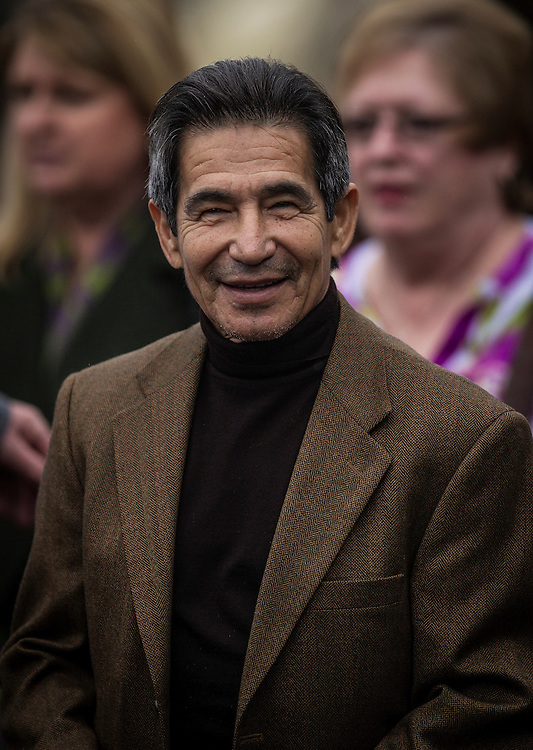 January 10 2014: Hall of Fame jockey, Laffit Pincay at Santa Anita Park in Arcadia CA. Alex Evers/ESW/CSM