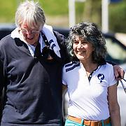 NLD/Amsterdam/20140517 - Don golftoernooi 2014, Freek de Jonge en partner  Hella de Jonge-Asser