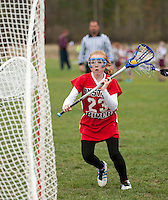 Lakes Region Lacrosse versus Oyster River U11 girls April 22, 2012.