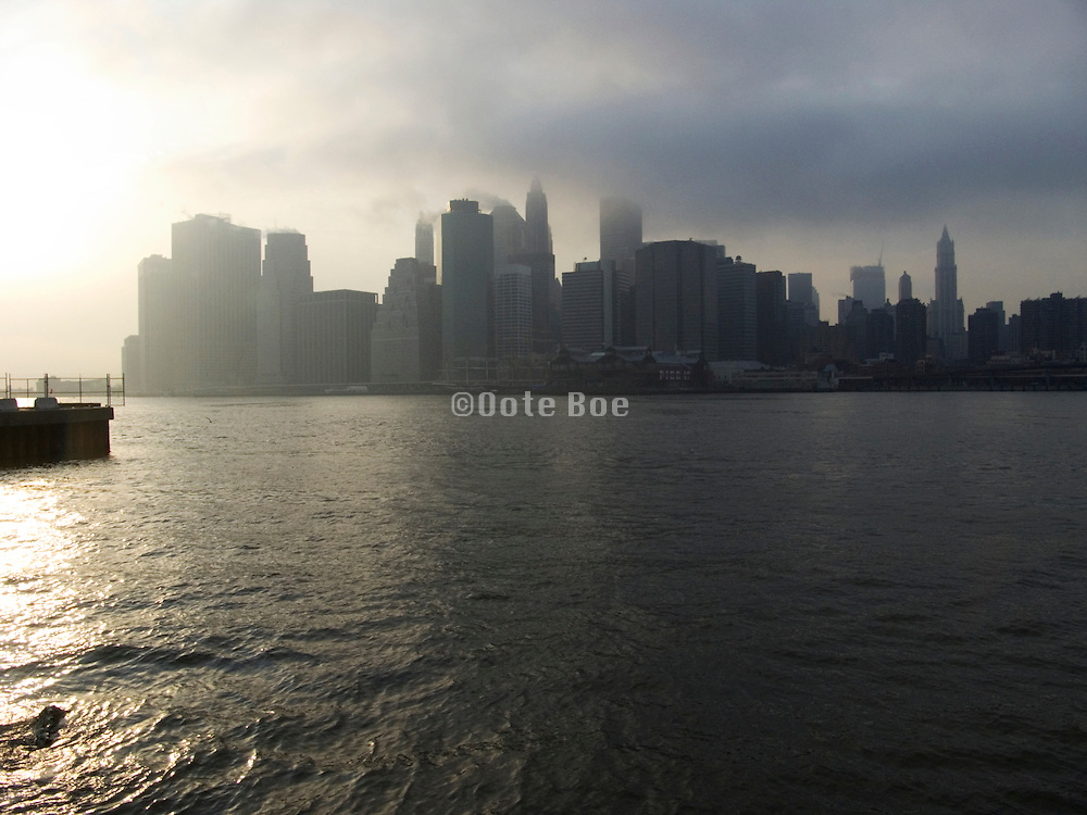 downtown New York skyline