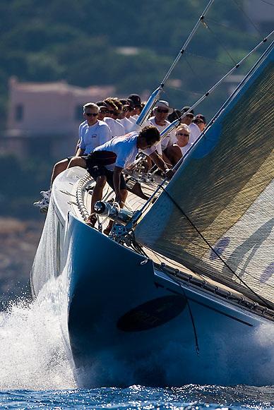 08_022139 © Sander van der Borch. Porto Cervo,  2 September 2008. Maxi Yacht Rolex Cup 2008  (1/ 6 September 2008). Day 2.
