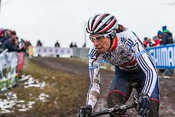 Helen Wyman (GBR), Women Elite, Cyclo-cross World Championships Tabor, Czech Republic, 31 January 2015, Photo by Pim Nijland / PelotonPhotos.com