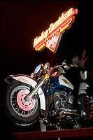 Harley Davidson Las Vegas Cafe Motorcycle, Las Vegas, Nevada