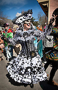 Tracy Thompson; 2009 Mardi Gras in the Bywater, Faubourg Marigny, and French Quarter of New Orleans