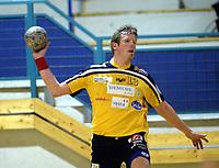 Håndball, 11. desember 2002. Eliteserien, Gildeserien herrer, Kragerø - Stord 25-32. Gunnar Simonsen , Kragerø