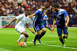 Jordon Ibe of England U21 attacks - Mandatory byline: Matt McNulty/JMP - 07966386802 - 03/09/2015 - FOOTBALL - Deepdale Stadium -Preston,England - England U21 v USA U23 - U21 International