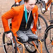 NLD/Den Haag/20180323 - Huldiging Olympische en Paralympische medaillewinnaars, Jeroen Kampscheer