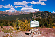 Molas Park on the San Juan Skyway (Highway 550), San Juan National Forest, Colorado