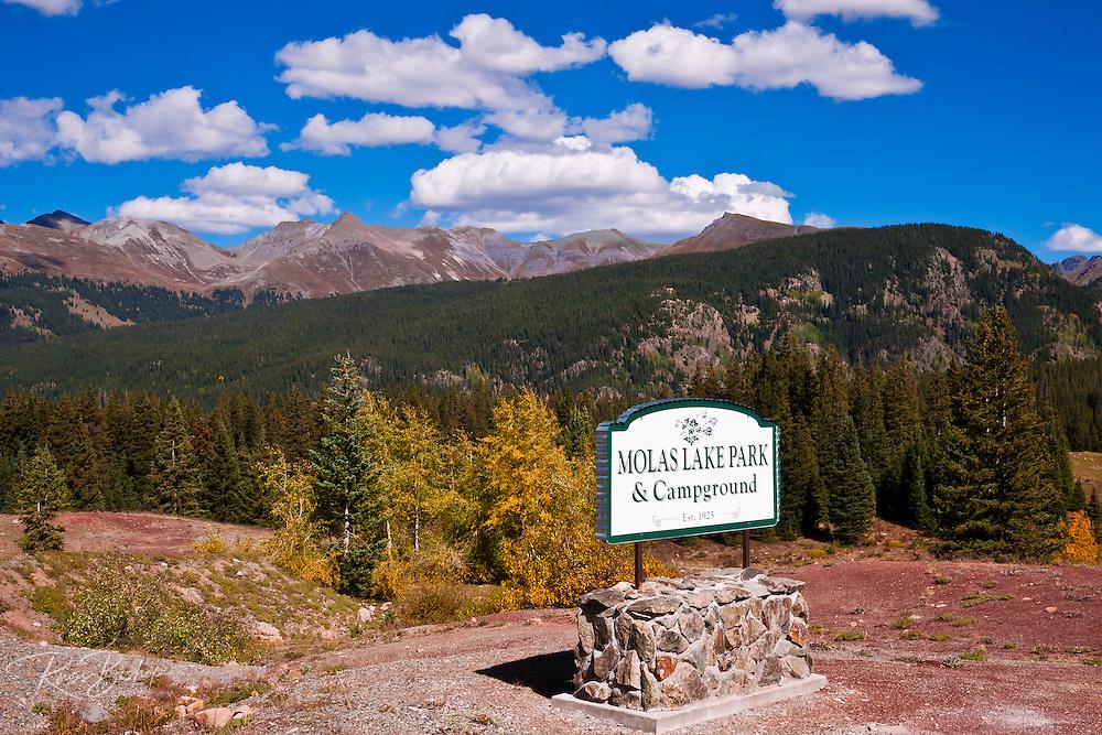 Molas Park on the San Juan Skyway (Highway 550), San Juan National Forest, Colorado