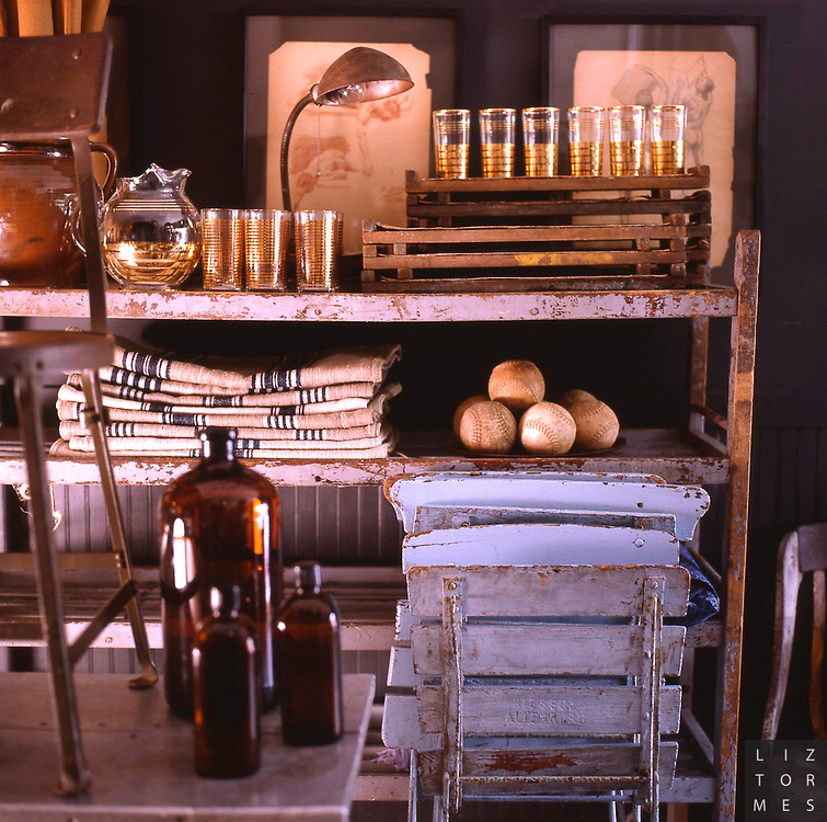 Shabby Chic story for Maison Cote Ouest