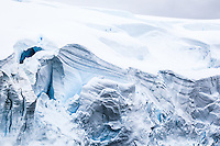 Stunning icy landscape of Antarctica.