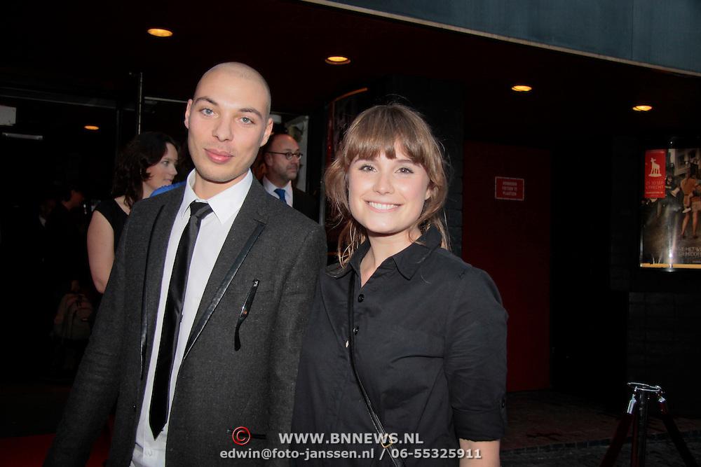 NLD/Utrecht/20110927 - 31 ste NFF-Uitreiking Lezen en Schrijven Film Awards door Prinses Laurentien, Loek Beernink en .....