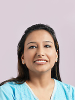 Mid-adult woman smiling