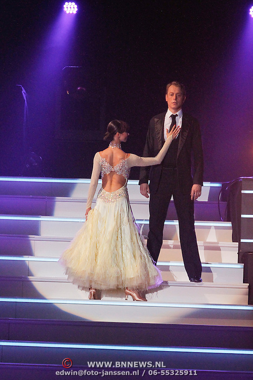 NLD/Hilversum/20121014 - Finale Strictly Come Dancing 2012, Mark van Eeuwen en danspartner Jessica Maybury