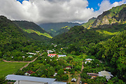 Omao Valley, Fatu Hiva, Marquesas, French Polynesia, South Pacific
