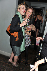 Left to right, RITA KONIG and CHRISTINE D'ORNANO at a carnival themed party hosted by Stacey Bendet for the Alice & Olivia fashion label at Paradise, Kensal Green, London on 9th November 2011