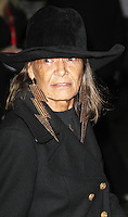 LONDON - OCTOBER 18: Anita Pallenberg attended the screening of 'Crossfire Hurricane' at the Odeon, Leicester Square, London, UK. October 18, 2012. (Photo by Richard Goldschmidt)