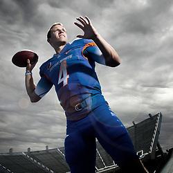 ***Illustration. Boise State football quarterback  Brett Rypien (4). Friday September 25, 2015.