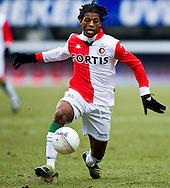 01-02-2009: voetbal: NEC - Feyenoord: Nijmegen<br /> Eredivisie: Georginio Wijnaldum<br /> fotograaf: Joep Leenen Sportfotografie