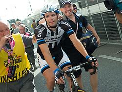 01.06.2014, Triest, ITA, Giro d Italia 2014, 21. Etappe, Gemona del Friuli nach Triest, im Bild Etappensieger Luka Mezgec, SLO (#175, Giant-Shimano) // stage winner Luka Mezgec, SLO (#175, Giant-Shimano) during the final stage of the Giro d' Italia 2014 at Stage 21 from Gemona del Friuli to Trieste, Italy on 2014/06/01. EXPA Pictures © 2014, PhotoCredit: EXPA/ R. Eisenbauer