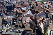 Blick vom Münster auf die Altstadt, Konstanz, Bodensee, Baden-Württemberg, Deutschland