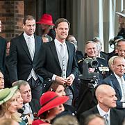 NLD/Den Haag/20170919 - Prinsjesdag 2017, Stef Blok, Minister Rutte, Lodewijk Ascher, Plasterk