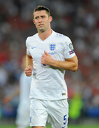 England's Gary Cahill (Chelsea) - Photo mandatory by-line: Joe Meredith/JMP - Mobile: 07966 386802 - 08/09/14 - SPORT - FOOTBALL - Switzerland - Basel - St Jacob Park - Switzerland v England - Uefa Euro 2016 Group E Qualifier