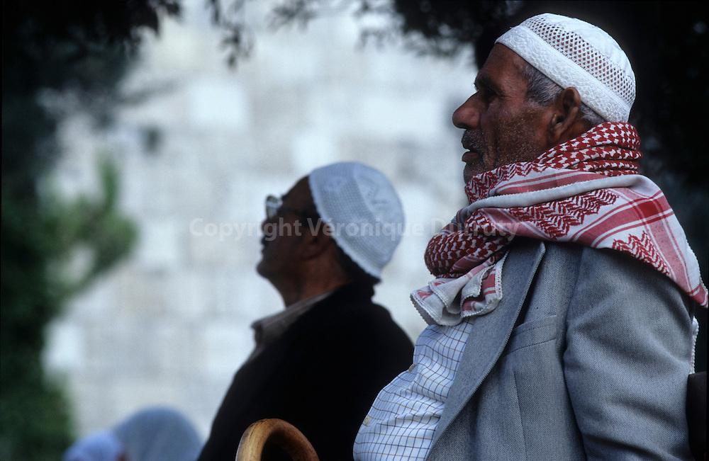 Men in the arab town