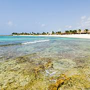 Xcalac beach..Riviera Maya, Quintana Roo..Mexico.