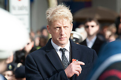 © Licensed to London News Pictures. 11/11/2018. Orpington, UK. Ex-transport minister and MP for Orpington Jo Johnson attending the Remembrance day service at Orpington war memorial to mark one hundred years since the end of the first world war.Photo credit: Grant Falvey/LNP