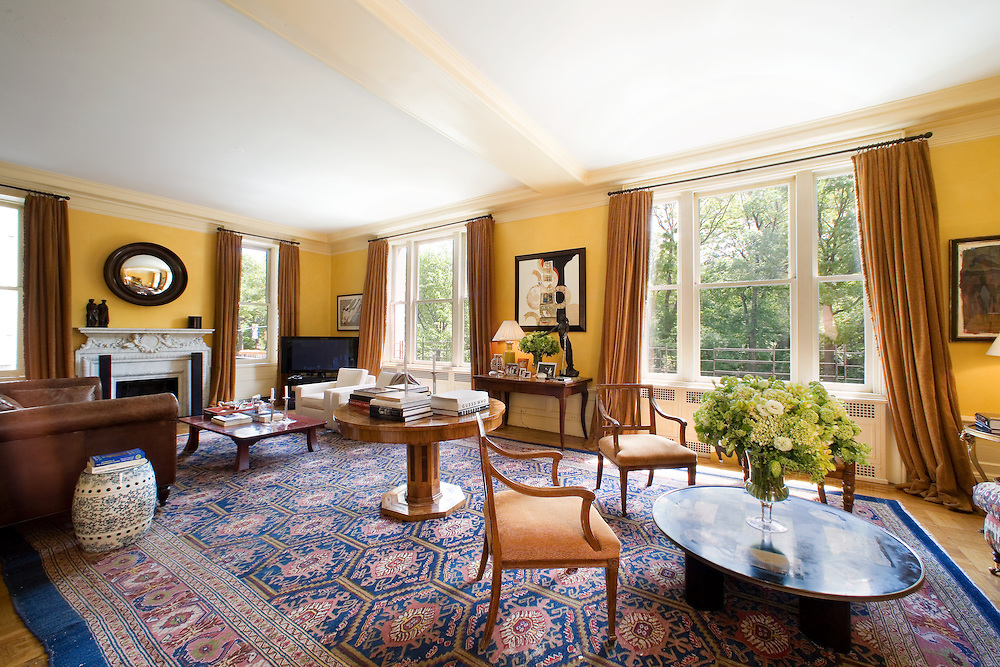 The Manhattan apartment of Sting and Trudie Styler.