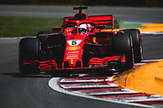 June 7-11, 2018: Canadian Grand Prix. Sebastian Vettel (GER), Scuderia Ferrari, SF71H