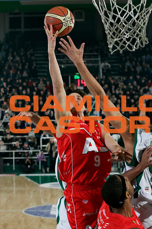 DESCRIZIONE : Avellino Lega A1 2008-09 Air Avellino Armani Jeans Milano<br /> GIOCATORE : Marco Mordente<br /> SQUADRA : Armani Jeans Milano<br /> EVENTO : Campionato Lega A1 2008-2009<br /> GARA : Air Avellino Armani Jeans Milano<br /> DATA : 22/11/2008<br /> CATEGORIA : Tiro<br /> SPORT : Pallacanestro<br /> AUTORE : Agenzia Ciamillo-Castoria/A.De Lise<br /> Galleria : Lega Basket A1 2008-2009<br /> Fotonotizia : Avellino Campionato Italiano Lega A1 2008-2009 Air Avellino Armani Jeans Milano<br /> Predefinita :
