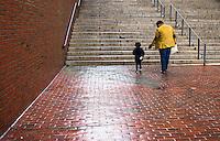Rainy day in Boston Massachusetts.  ©2014 Karen Bobotas Photographer