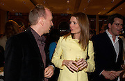 Simon Sebag-Montefiore and Plum Sykes. Book party for LAST VOYAGE OF THE VALENTINA by Santa Montefiore (Hodder & Stoughton) Asprey,  New Bond St. 12 April 2005. ONE TIME USE ONLY - DO NOT ARCHIVE  © Copyright Photograph by Dafydd Jones 66 Stockwell Park Rd. London SW9 0DA Tel 020 7733 0108 www.dafjones.com
