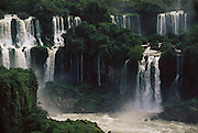 ARG_11_xs.Iguazu Falls, a series of large waterfalls on the Brazil and Parguay  border with Argentina. Argentina.