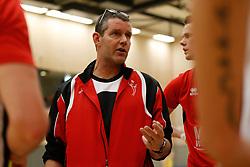 20180324 NED: Topdivisie Maatwerkers VCN - Next Volley Dordrecht, Capelle aan den IJssel <br />Ferry van Hal, headcoach of Maatwerkers VCN <br />©2018-FotoHoogendoorn.nl / Pim Waslander