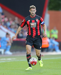 Simon Francis of Bournemouth - Mandatory by-line: Paul Terry/JMP - 07966386802 - 31/07/2015 - SPORT - FOOTBALL - Bournemouth,England - Dean Court - AFC Bournemouth v Cardiff City - Pre-Season Friendly