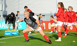 Jasmine Matthews of Bristol City warms up - Mandatory by-line: Nizaam Jones/JMP - 27/10/2019 - FOOTBALL - Stoke Gifford Stadium - Bristol, England - Bristol City Women v Tottenham Hotspur Women - Barclays FA Women's Super League