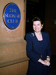 The HON.MRS CAROLINE PARR at an exhibition in London on 20th May 1997.LYK 24