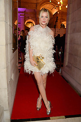 LAURA WHITMORE at the WGSN Global Fashion Awards held at the V&A museum, London on 30th October 2013.